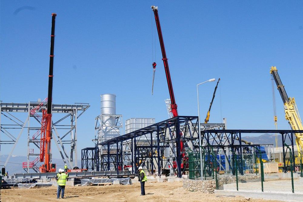 AGE CCPP Natural Gas Fired CCPP   (200 MW, 3 x SIEMENS SGT800 GTG + l x STG)