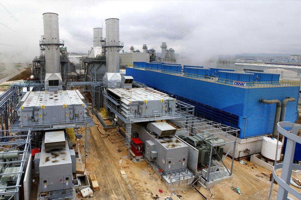 BOSEN CCPP Natural Gas Fired CCPP  (120 MW, 2 x GE LM6000 PD SPRINT GTG + l x STG)