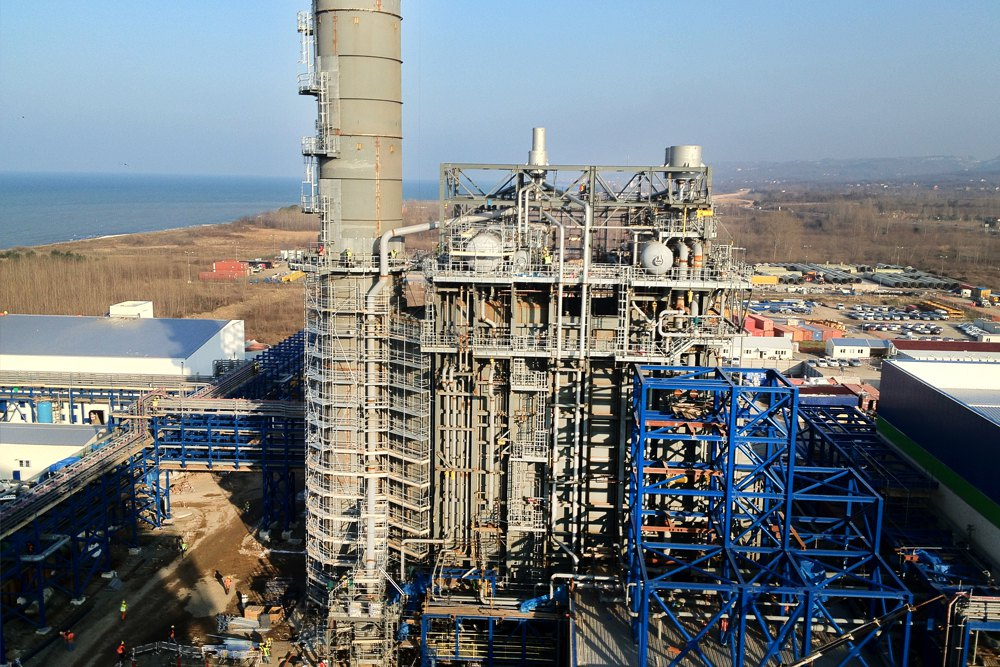 DENİZLİ CCPP Natural Gas Fired CCPP  (775 MW, 2 x SIEMENS SGT5-4000F GTG + l x STG)