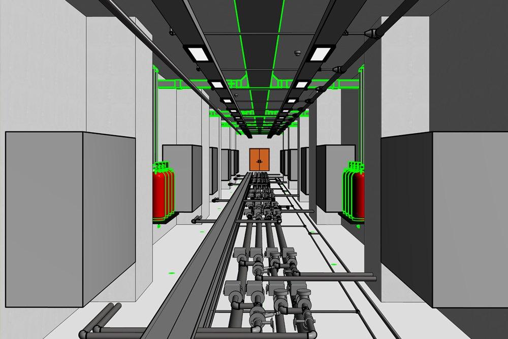 İBB BAŞAKŞEHİR / Metrokent Data Center